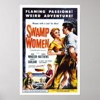 """""""Poster de las mujeres del pantano"""""""
