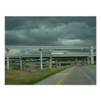 Poster de las nubes de tormenta