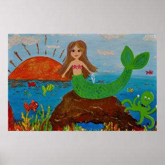 Poster de las ofrendas de la sirena