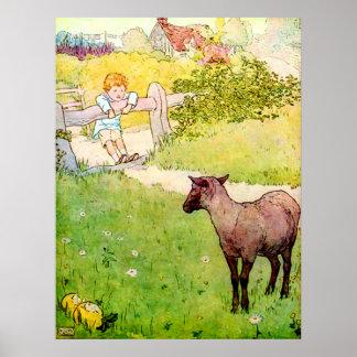 Poster de las ovejas negras del Baa del Baa