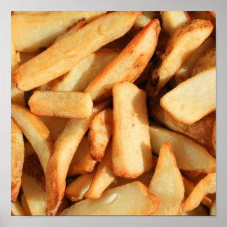 Poster de las patatas fritas póster