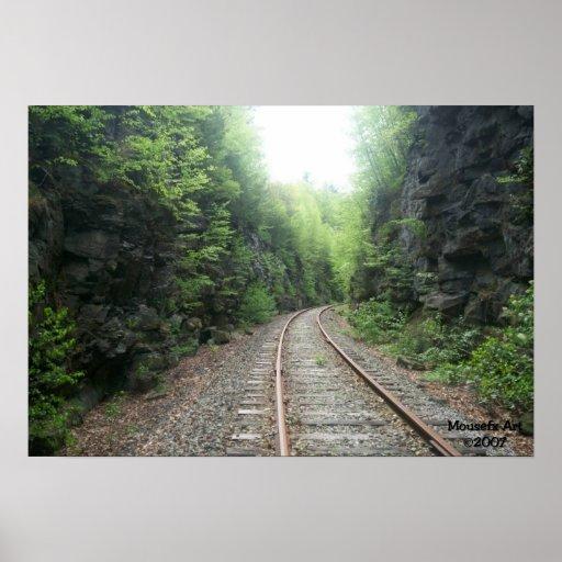 Poster de las pistas de ferrocarril
