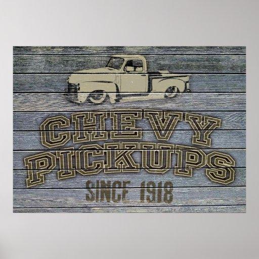 Poster de las recogidas de Chevy