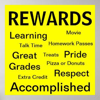 Poster de las recompensas