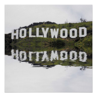 Poster de las reflexiones de Hollywood