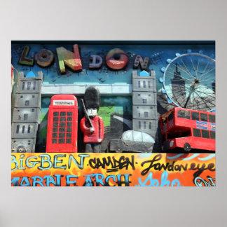 Poster de las señales de Londres