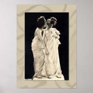 Poster de las señoras del Victorian de los Póster
