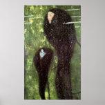 Poster de las sirenas del ~ de Klimt