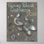 poster de las vacaciones de primavera