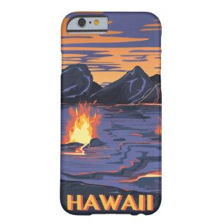 Poster de las vacaciones del viaje del vintage de funda de iPhone 6 barely there