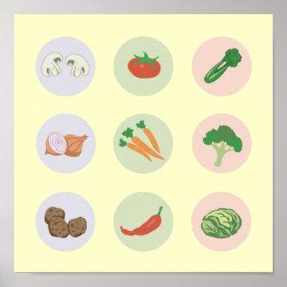 Poster de las verduras