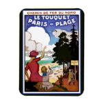 Poster de Le Touquet Imán Flexible