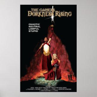 Poster de levantamiento de Dorkness