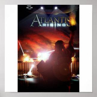 Poster de levantamiento de la Atlántida
