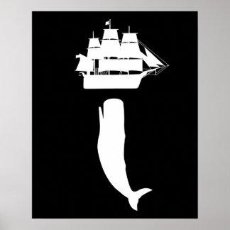 Poster de levantamiento de Moby Dick