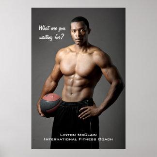 Poster de Linton McClain: ¿Qué usted está esperand Póster