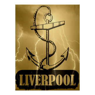Poster de Liverpool del amor Póster