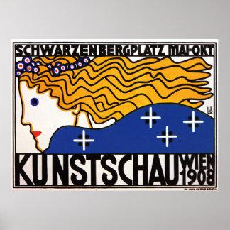 Poster de Loffler Secesseion:   Kunstschau Wien