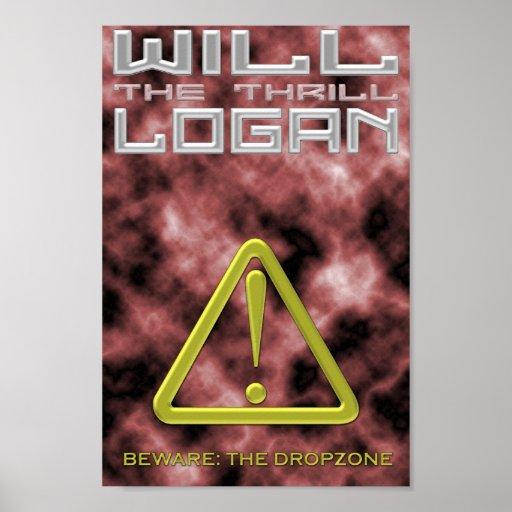 """Poster de Logan """"de la emoción"""""""