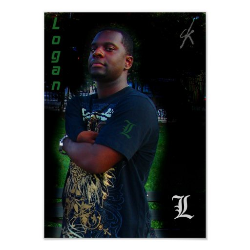 Poster de Logan - verde