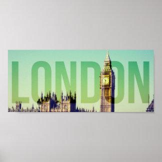 Poster de Londres Big Ben