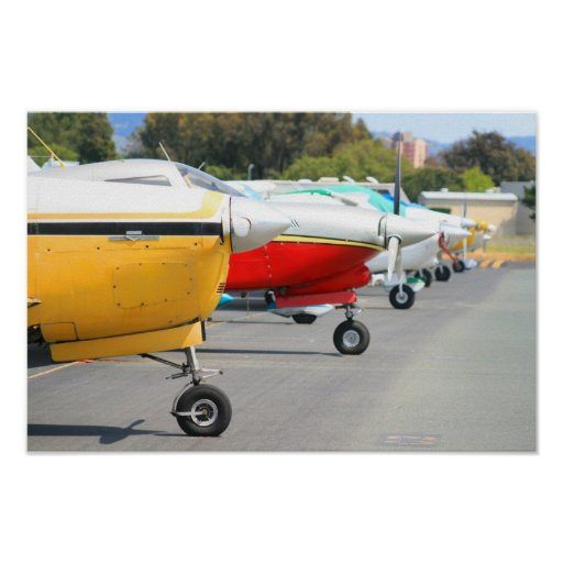 Poster de los aeroplanos