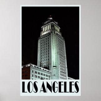 Poster de Los Ángeles 36 x 24