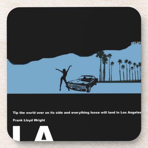 Poster de Los Ángeles Posavasos De Bebidas