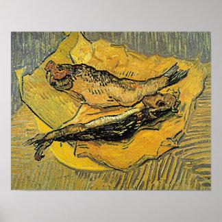 """Poster de los """"arenques ahumados"""" de Van Gogh"""