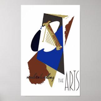 Poster de los artes de WPA