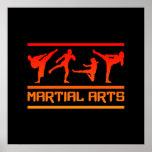 ¡Poster de los artes marciales - personalizar!