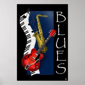 Poster de los azules
