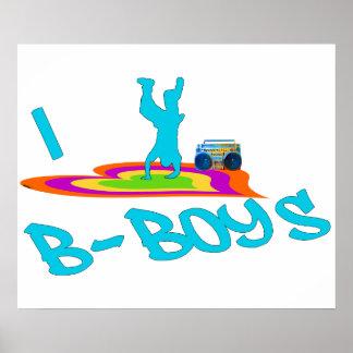 Poster de los B-Muchachos I <3