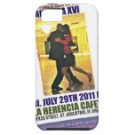 Poster de los bailarines de Milonga iPhone 5 Funda