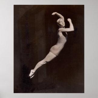 Poster de los bañadores del vintage - 1766937-1