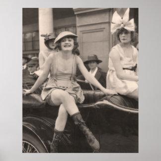 Poster de los bañadores del vintage - 1780208-1