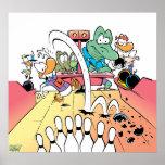 Poster de los bolos del Pin del pantano diez