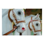 Poster de los caballos del carrusel