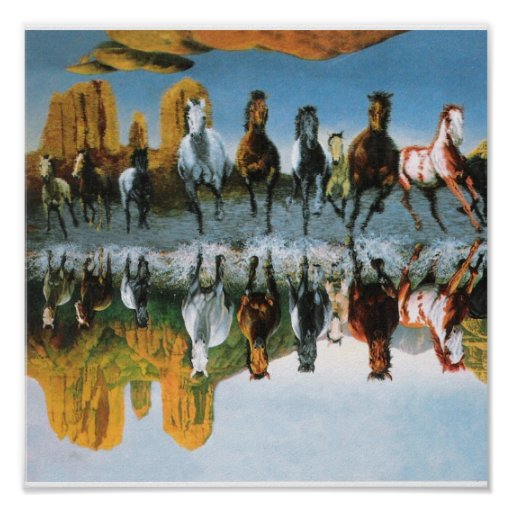 Poster de los caballos salvajes
