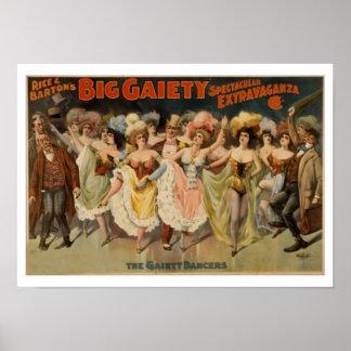 Poster de los chicas de baile