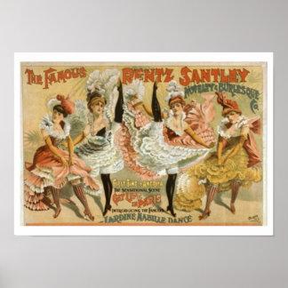 Poster de los chicas de baile póster