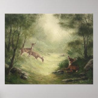 Poster de los ciervos