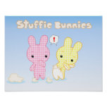 Poster de los conejitos de Stuffie