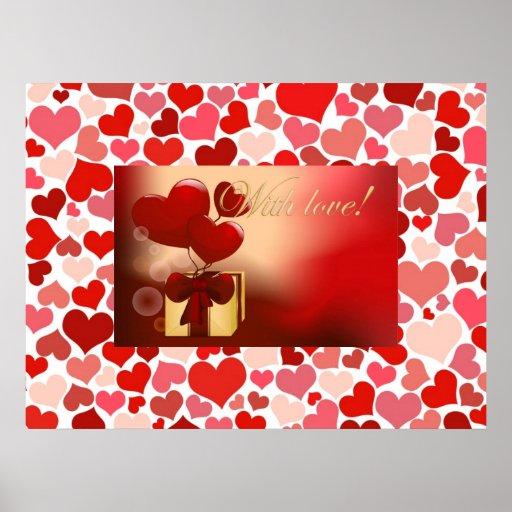Poster de los corazones