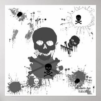 Poster de los cráneos