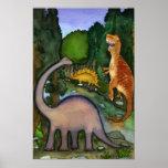 Poster de los dinosaurios