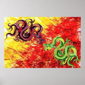 Poster de los dragones