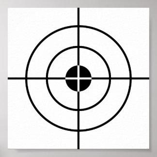 Poster de los ejercicios de tiro