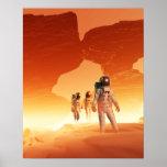 Poster de los exploradores de Marte