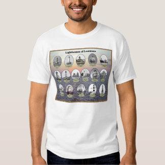 Poster de los faros de Luisiana Camisas